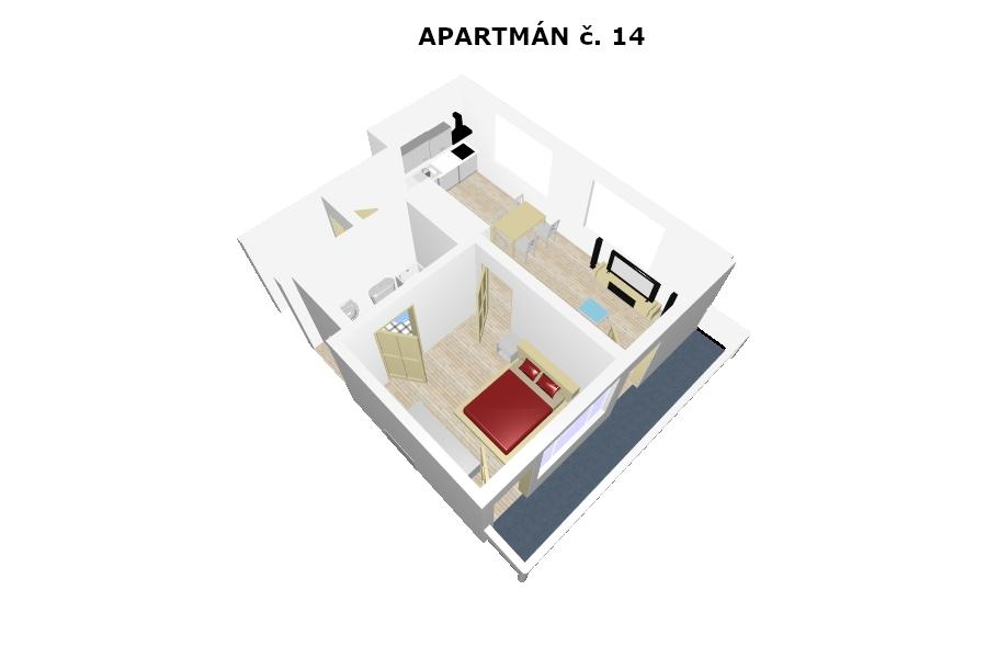 Apartmán č. 14