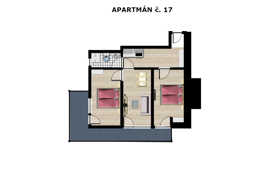 Apartmán č. 17
