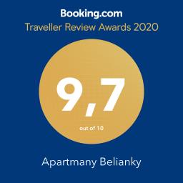 hodnotenie booking apartmany belianky
